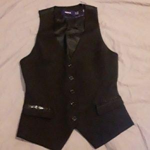 BNOT black MEXX vest with sequins